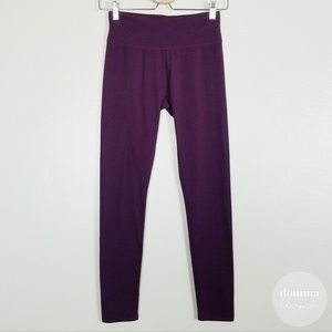 Aerie • Deep Plum Purple Chill Legging S